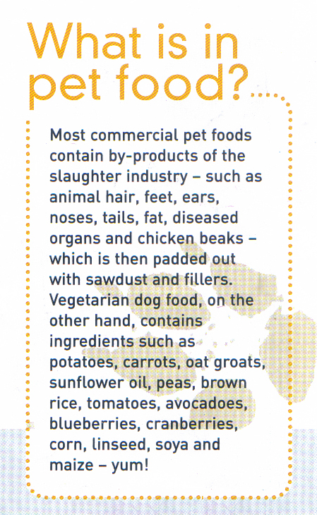 whats in pet food